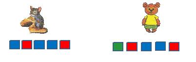 Разбор слова мишка схема